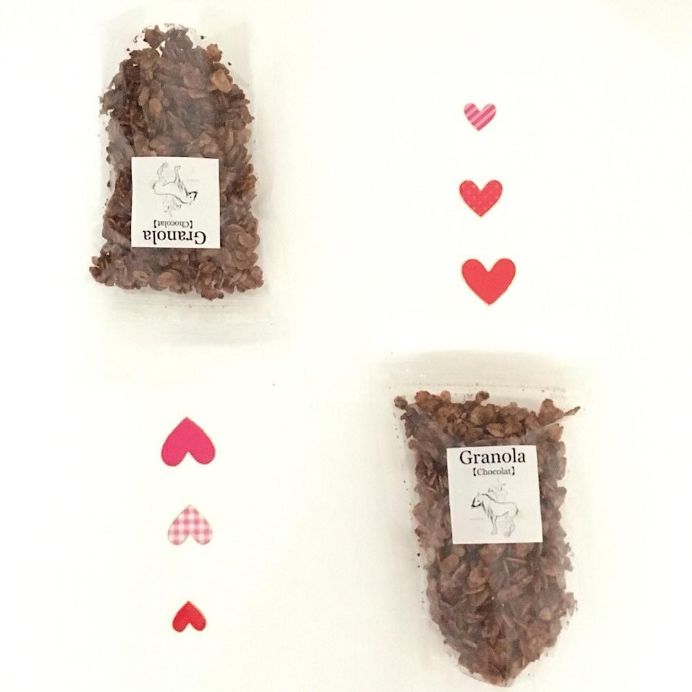 グルテンフリーおやつままがし チョコレートグラノーラ バレンタイン