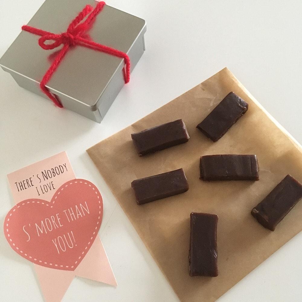 グルテンフリーおやつままがし チョコレート生キャラメル バレンタイン