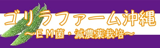ゴリラファーム沖縄 〜EM菌・減農薬栽培〜