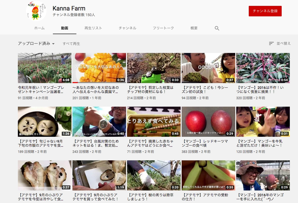 Kanna Farm YouTube沖縄のフルーツ通販は沖縄マンゴー!御中元お中元に最適、最高の果物くだもののフルーツ通販はかんな農園へ!沖縄ゴーヤーもやってます!