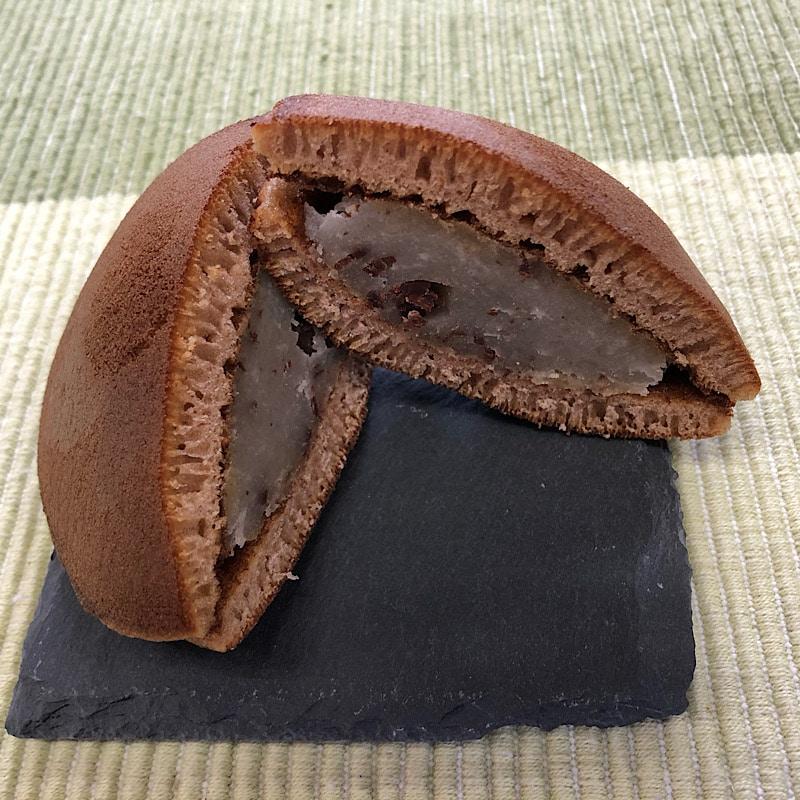 千葉県いすみ市四季の和菓子屋通販高橋製菓 どら焼き(チョコバナナ)