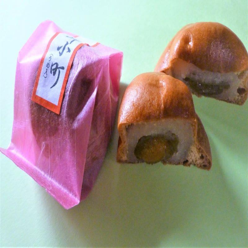 千葉県いすみ市季節の和菓子屋通販 高橋製菓 岬小町(梅の実)