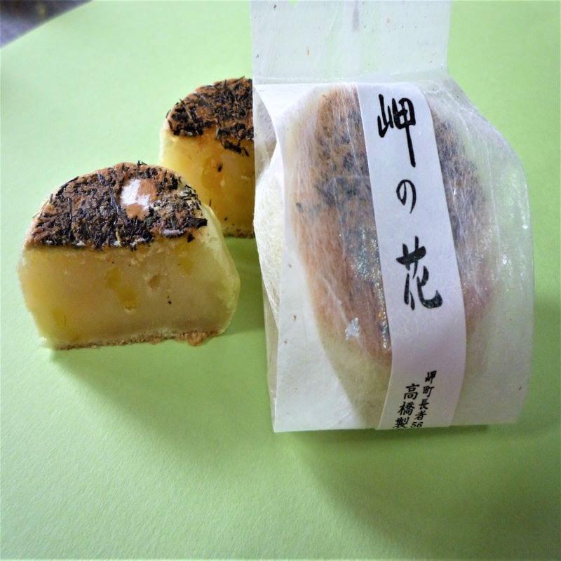 千葉県いすみ市季節の和菓子屋通販 高橋製菓 岬の花(茶通)