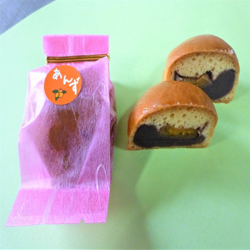 千葉県いすみ市季節の和菓子屋通販 高橋製菓 あんず