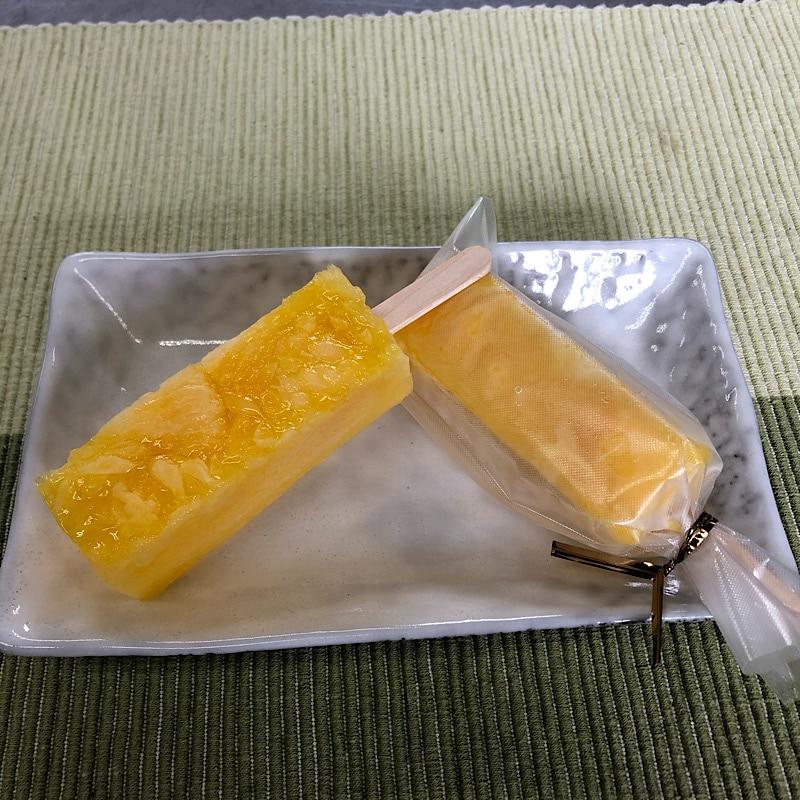 千葉県いすみ市和菓子の高橋製菓 ツクツクべじねすさんコラボ商品 くずバー 甘夏みかん