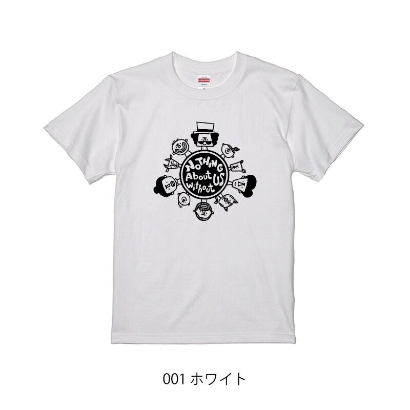 チャリティーTシャツ_ホワイト