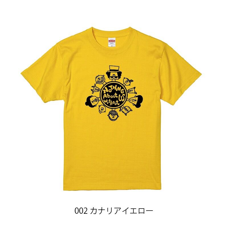 チャリティーTシャツ_カナリアイエロー