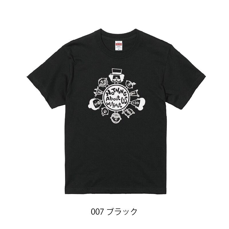 チャリティーTシャツ_ブラック