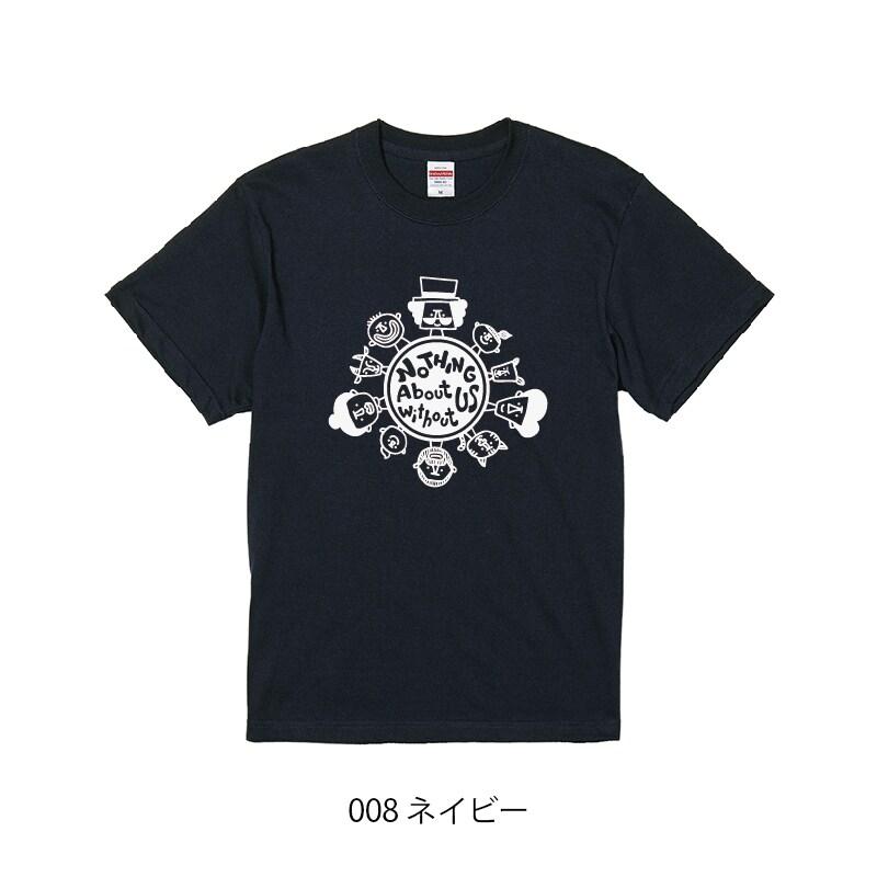 チャリティーTシャツ_ネイビー