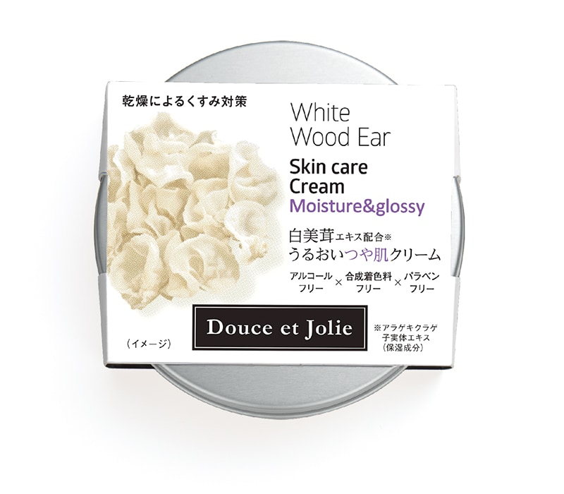 白いきくらげ 白きくらげ 白美茸 多糖体 ドゥースエジョリー