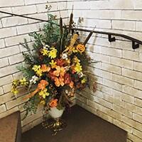 造花 レンタル 美容室