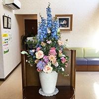 造花 レンタル 病院