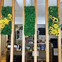 造花 レンタル 店舗装飾 整骨院