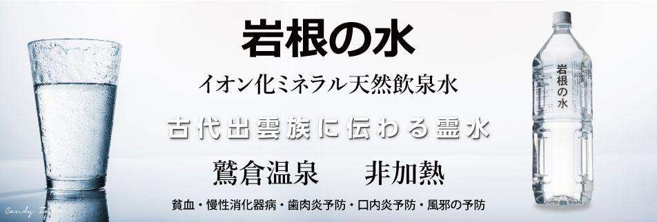 非加熱イオン化ミネラル飲泉水【岩根の水】
