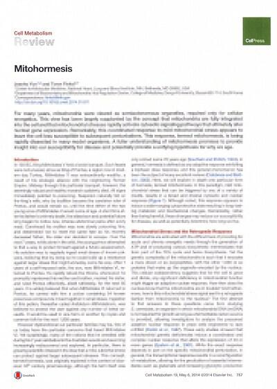 学術誌「Cell」に掲載されたホルミシス効果