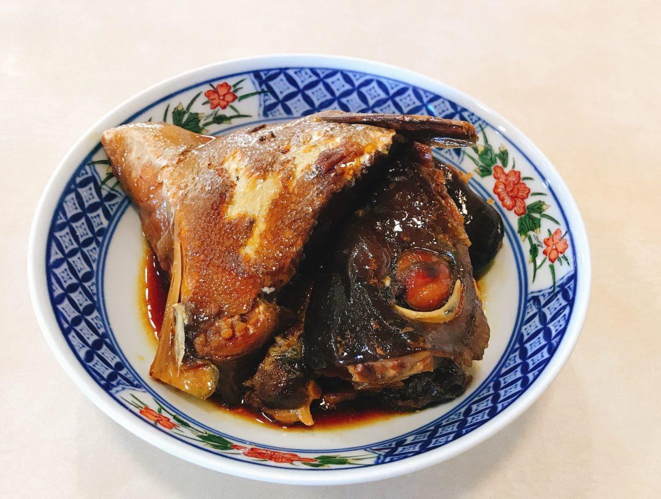 熊本県人吉 球磨郡/回転寿司まぐろやサンロードシティ店まぐろや特製あら煮