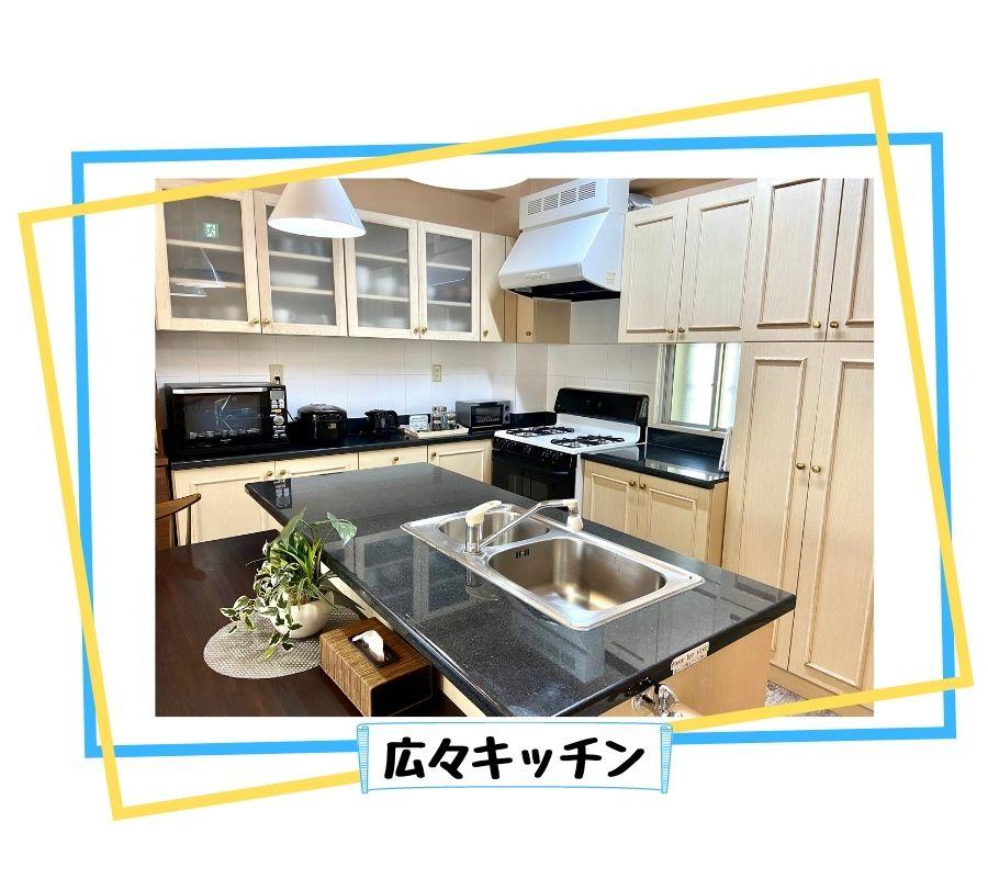 成和ユニテック〜RIVERSIDESEIWAリバーサイドセイワ〜広々キッチン