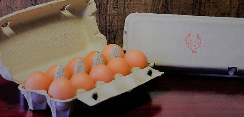 """徳森養鶏場は沖縄県うるま市与那城にある創業1967年の養鶏場です。徳森養鶏場の独自のブランドたまご『くがにたまご』&アパレルブランド『ニワトリ』を沖縄県うるま市から通販にてお届けいたします。沖縄県うるま市産の『くがにたまご』は美味しく、安全、安心で鮮度の良いたまごを通販します。『ニワトリ』も通販にて購入可能です。徳森養鶏場は沖縄・うるま市から、お客さまの笑顔を見たいのです。沖縄・うるま市にこだわり、つくる人も食べる人も笑顔になる。この想いを""""笑門卵福""""で表現しました。「卵は皆を笑顔にし、福モタラス」"""