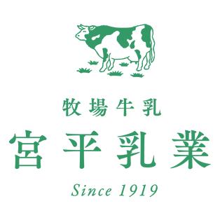 宮平乳業ロゴ|宮平牛乳を扱った宮平ジェラート(アイスクリーム)の通販オンラインショップ|沖縄宮平グッズ