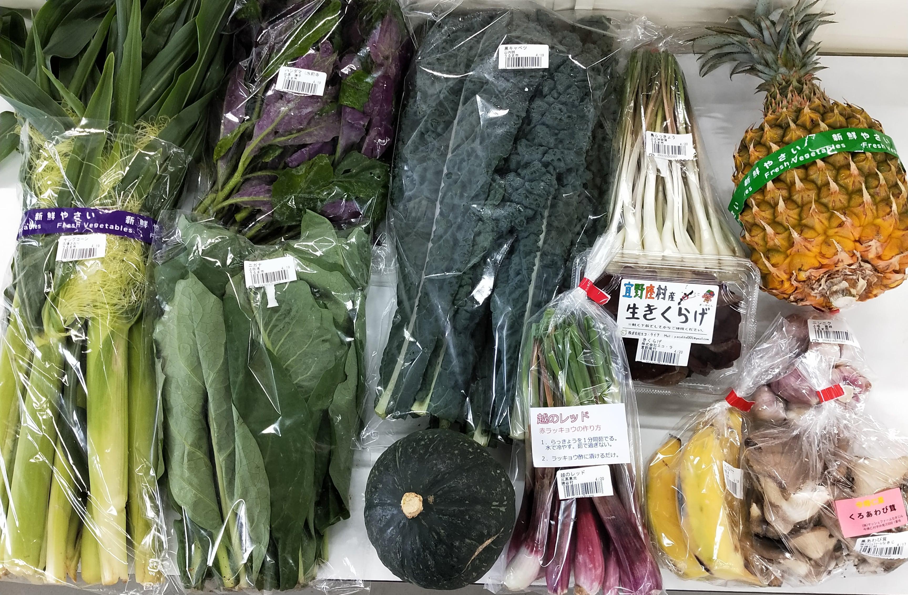 野菜セット|うるマルシェ通販|ネットスーパー|野菜セット|直売所