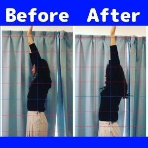 肩の可動域改善例