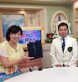 「家庭で出来るしみ抜きアドバイス」テレビ出演
